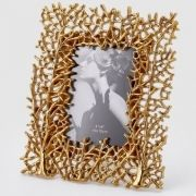PHOTO FRAME GOLDEN CORALS