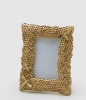 PHOTO FRAME GOLDEN HONEYCOMB