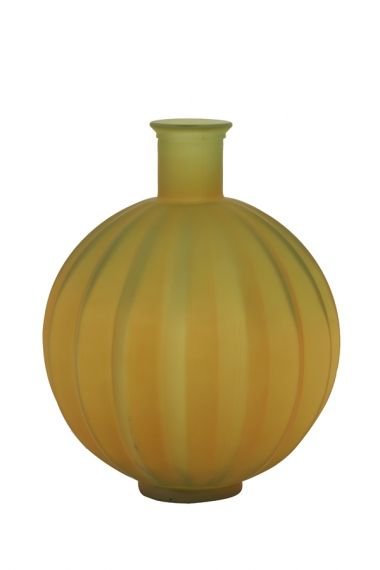 VASE -  PALLOCI GLASS MATT OCHER