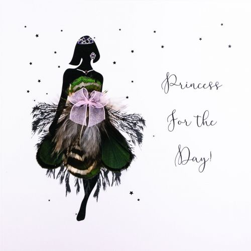 POSTCARD - PRINCESS FOR THE DAY!