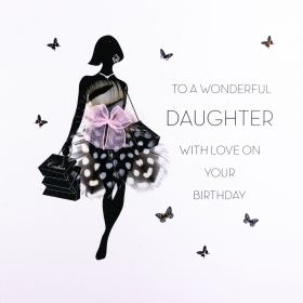 КАРТИЧКА  - TO A WONDERFUL DAUGHTER......