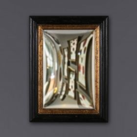 CONVEX MIRRORS FRAMED