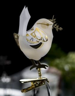 Bird on Clip, Gold