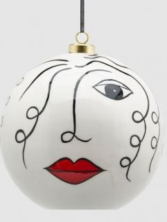BALL FOR CHRISTMAS TREE CERAMICS