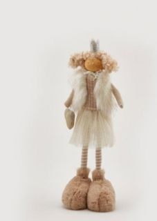 KNITTED DOLL WHITE