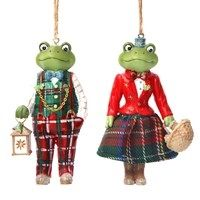 DRESSED MR. AND MRS.FROG 2 ASS.