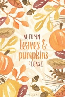 "АРОМАТ - ""Autumn Leaves and Pumpkin Please"""