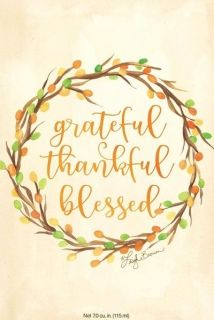 АРОМАТ - GRATEFUL, THANKFUL, BLESSED