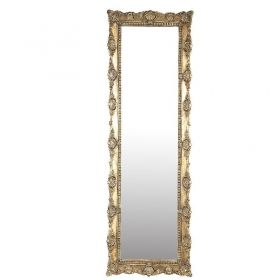 Matteo gold poly anitque mirror rectangle